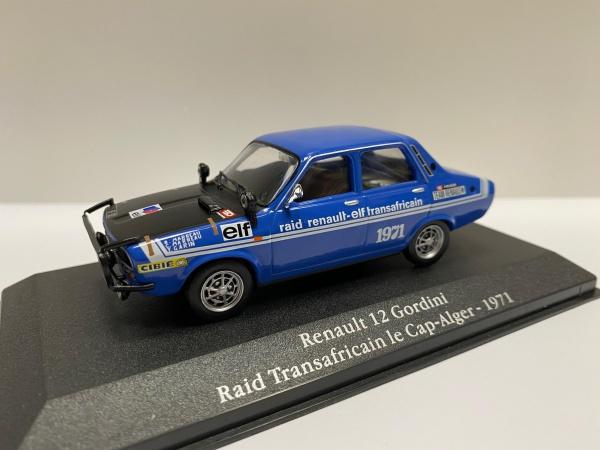 Renault 12 Gordini Raid Transafricain Le Cap Alger 1971