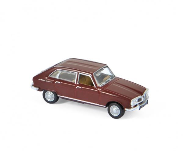 Renault 16 Super 1966 Dark Red