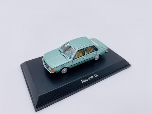 Renault 18 Vert Métallic NEWS JUILLET 2020