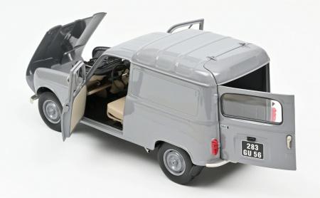 Renault 4 Fourgonnette 1965 Grey