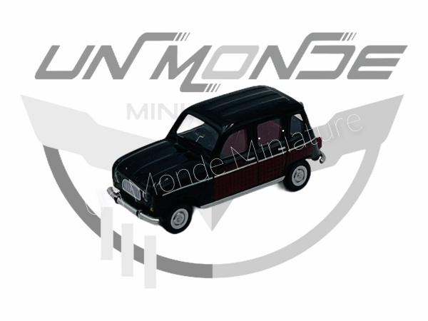 Renault 4 Parisienne Noire Rouge Foncé
