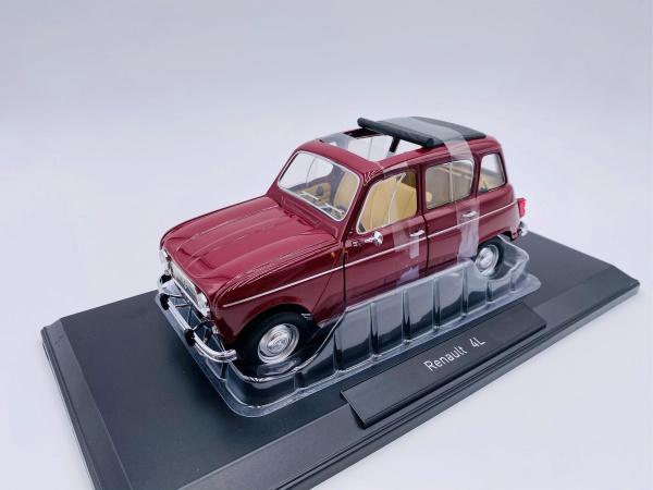 Renault 4L 1966 Dark Red