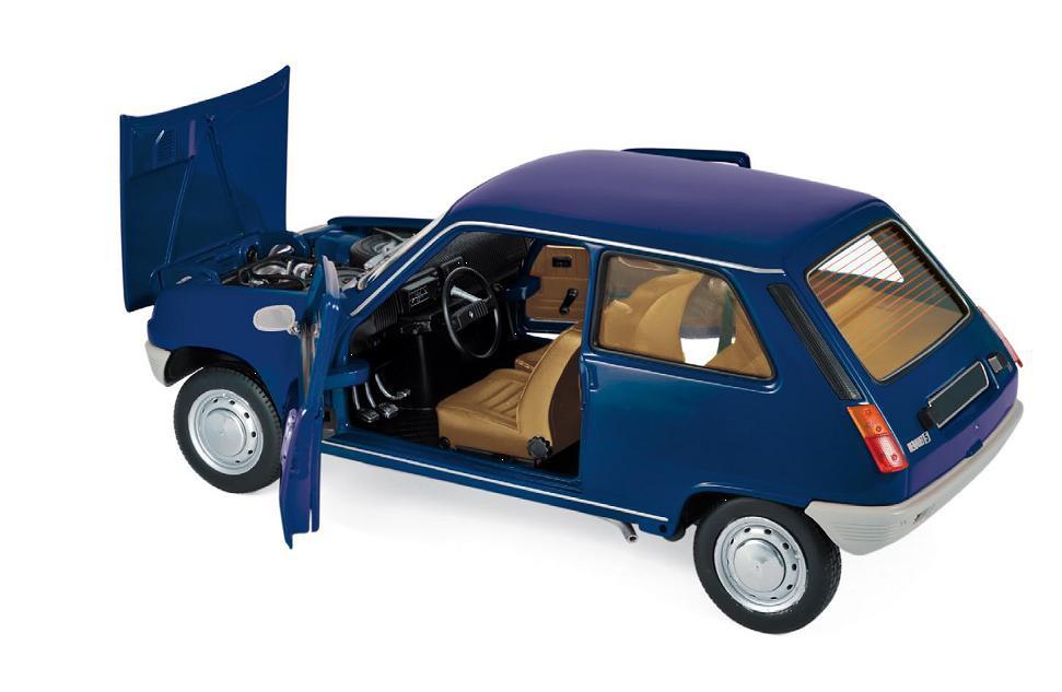 Renault 5 1973 Dark Blue