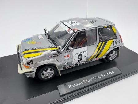 Renault 5 GT Turbo 1989 Rallye Cote d\'Ivoire Oreille-Thimonier