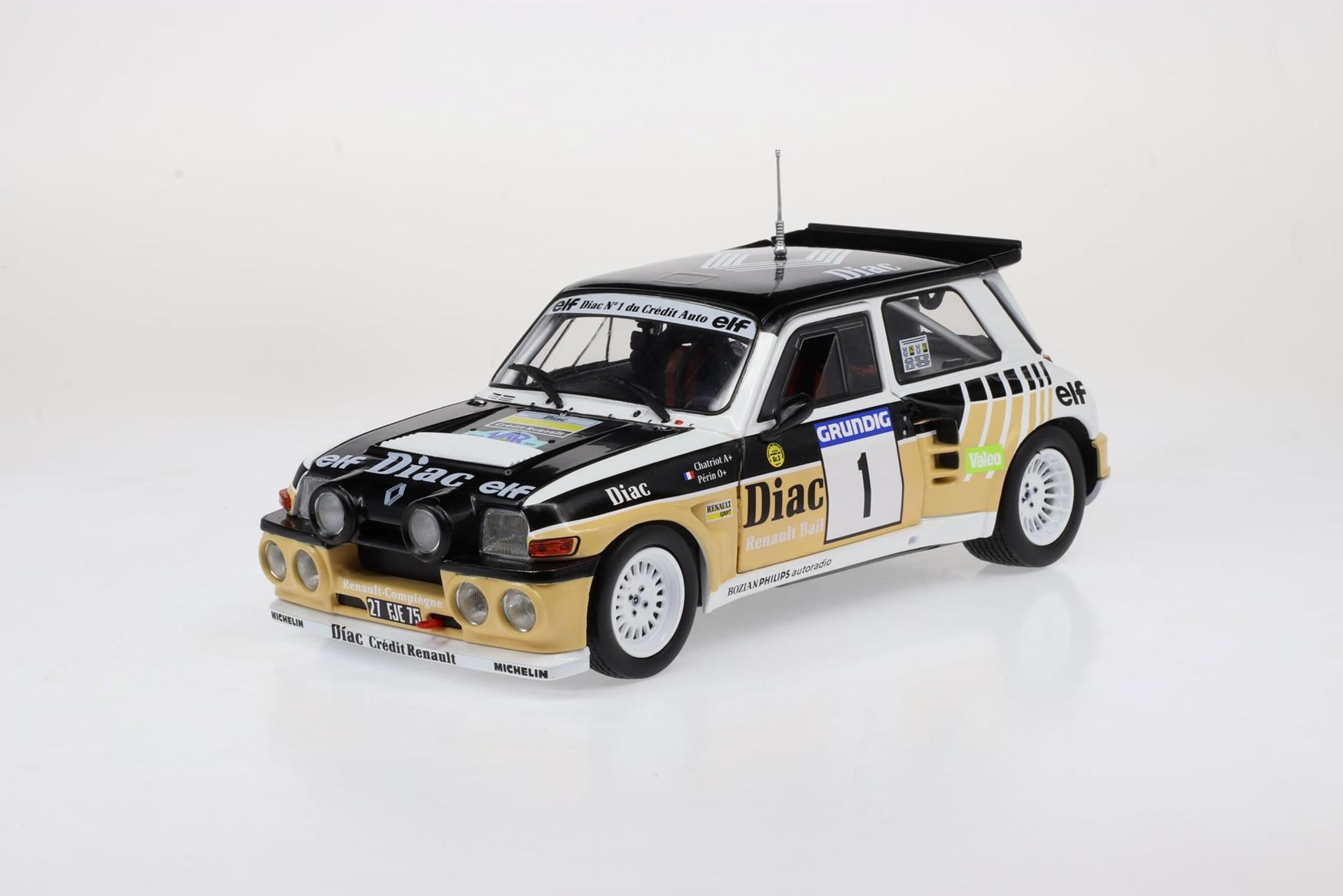 Renault 5 MAXI Rallye du Var 1986