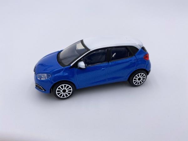 Renault Capture Bleue toit Blanc