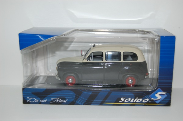 Renault Colorale Taxi 1953 Black & creme