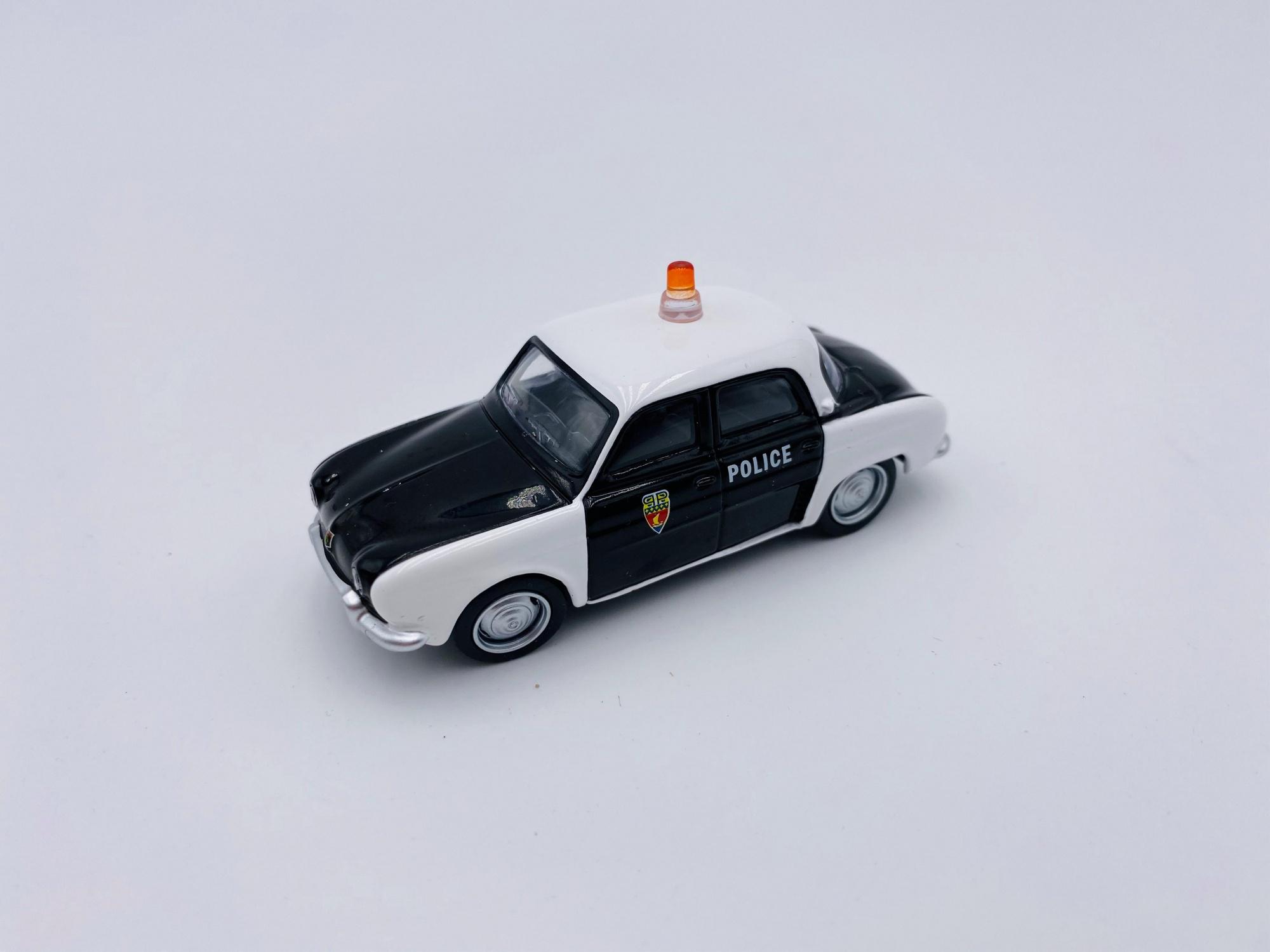 Renault Dauphine POLICE