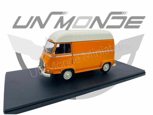 Renault Estafette Orange Blanche