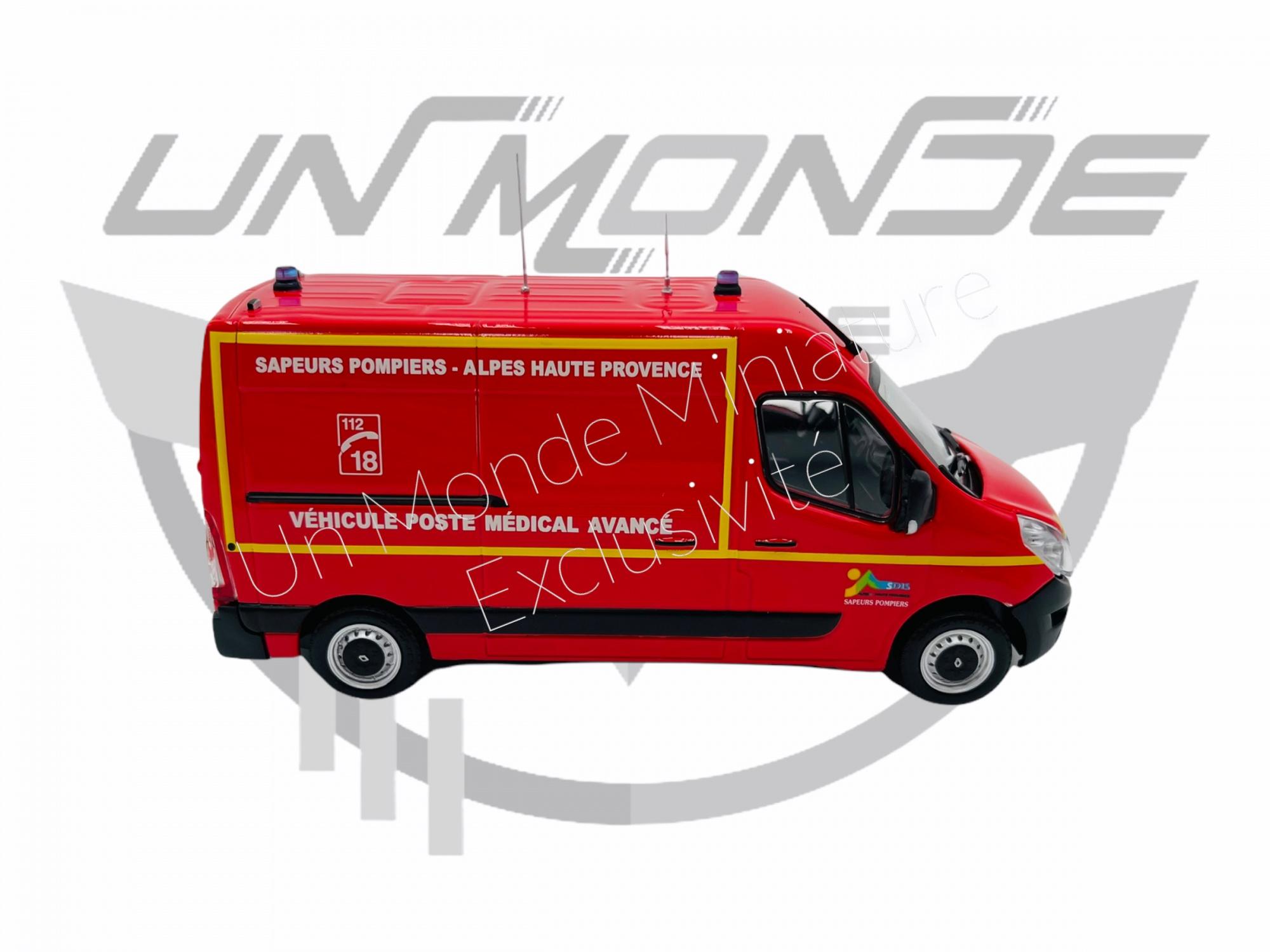 Renault Master 2014 PMA Sdis 04 Exclu