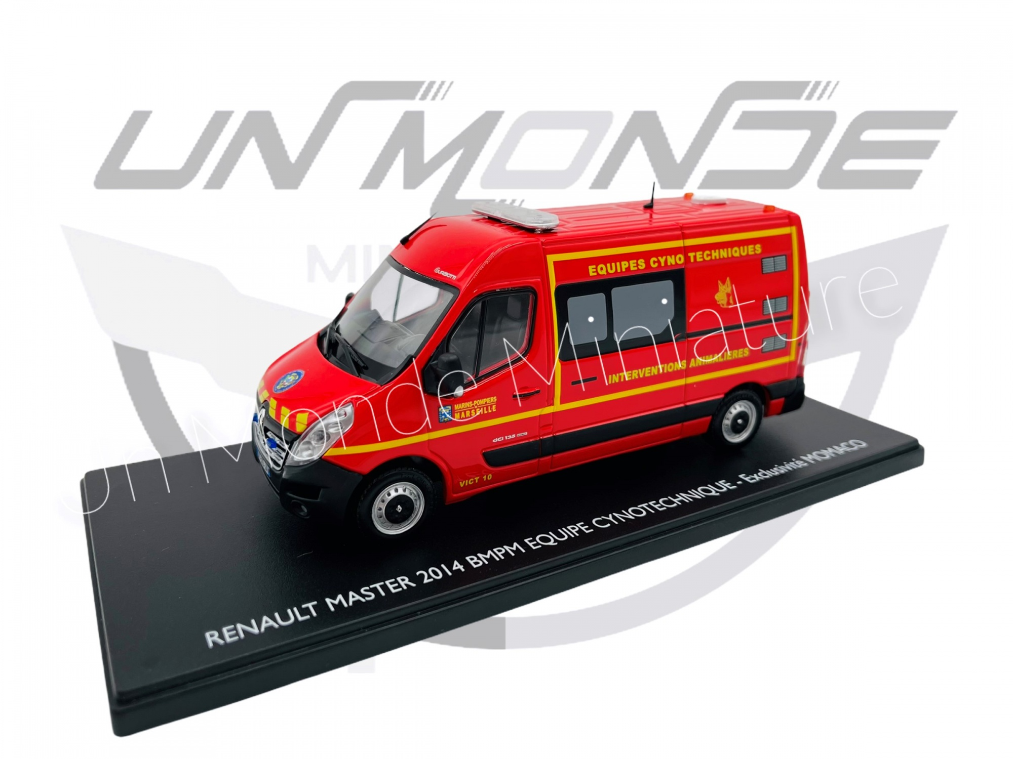 Renault Master 2014 VICT Vehicule D\'Intervention Cynotechnique 13 BMPM