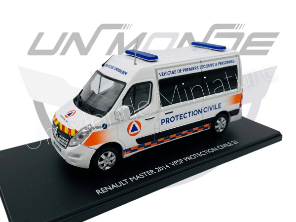 Renault Master 2014 VPSP Protection Civil