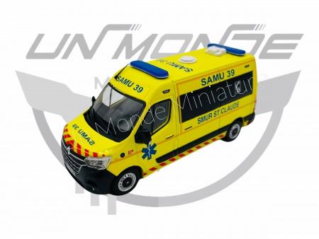 Renault Master 2019 SMUR 39 Exclu
