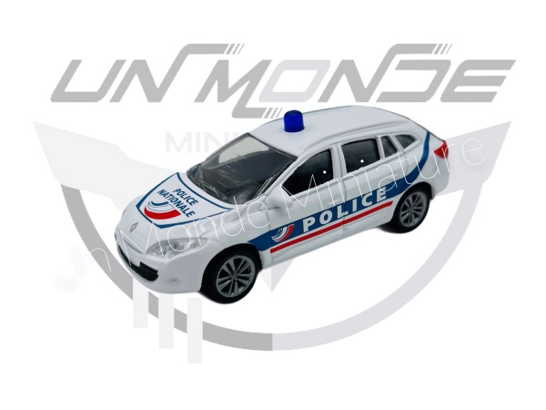 Renault Megane 2008 Police