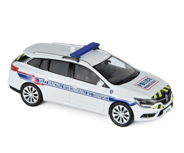 Renault Megane Estate 2016 Police Municipale Intercommunale des Transports