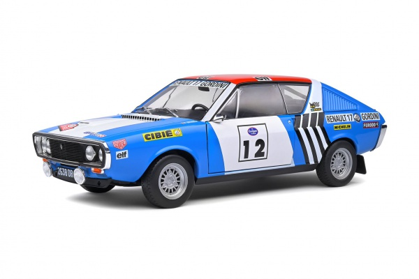 Renault R17 Gordini Rallye Press On Regardless 1974