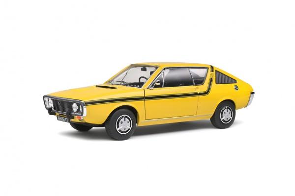 Renault R17 MKI Jaune 1976