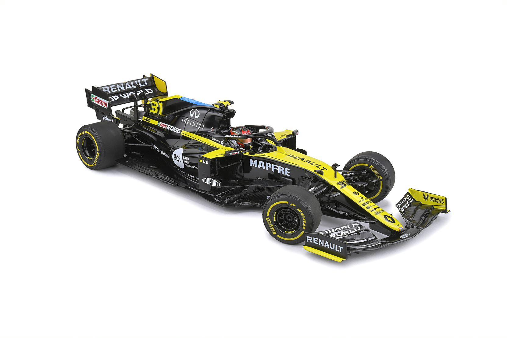 Renault RS 20 British Grand Prix 2020 E.OCON