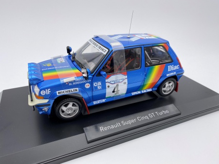 Renault Super 5 GT Turbo 1990 Rallye Cote d\'Ivoire Oreille-Roissard