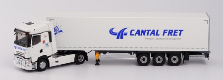 Renault T High Semi Fourgon CANTAL FRET 40 ANS