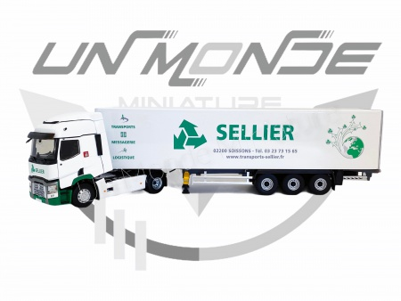 Renault T460 Fourgon Transport SELLIER
