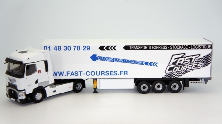 Renault T520 HIGH Fourgon FAST COURSES