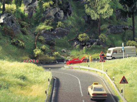 Route Nationale Gris large de 80 mm