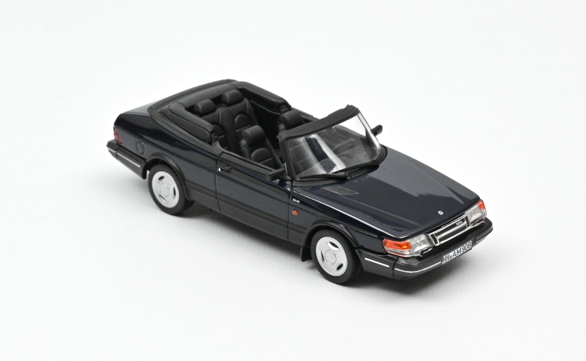 Saab 900 Turbo Cabriolet 1992 Dark Blue