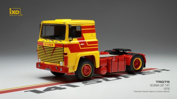 Scania LBT 141 1976 Jaune & Rouge