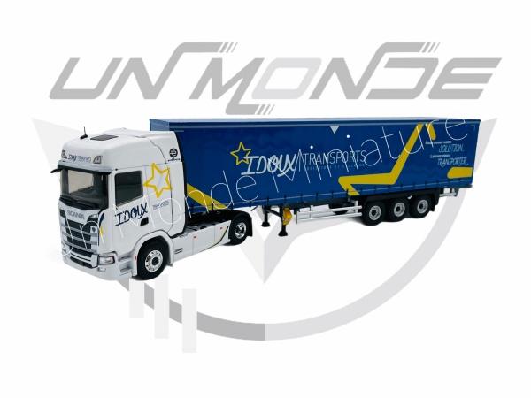 Scania S Tautliner Transport IDOUX