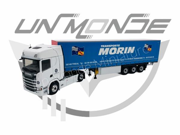 Scania S Tautliner Transport MORIN