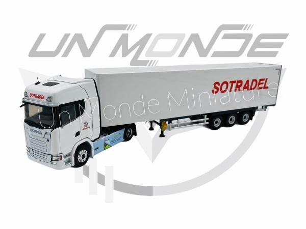 Scania S410 Remorque Fourgon SOTRADEL