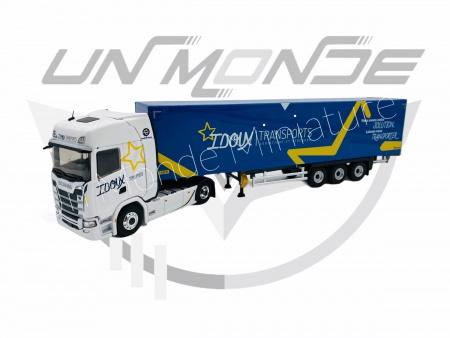 Scania S500 Semi Fourgon Transport IDOUX