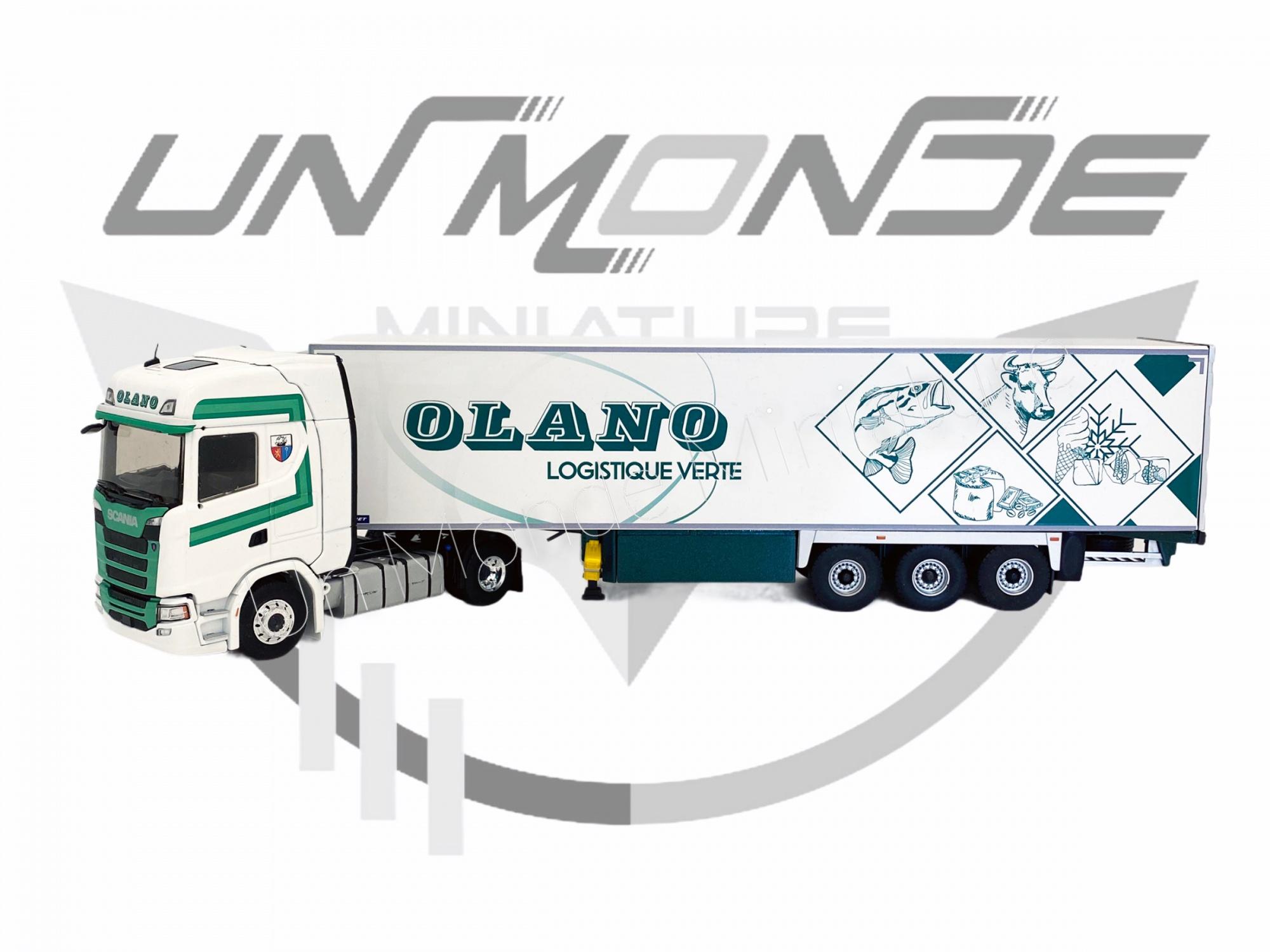 Scania S500 Semi Frigo Lamberet OLANO