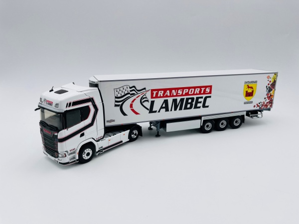 Scania S580 V8 Semi Frigo Transport LAMBEC