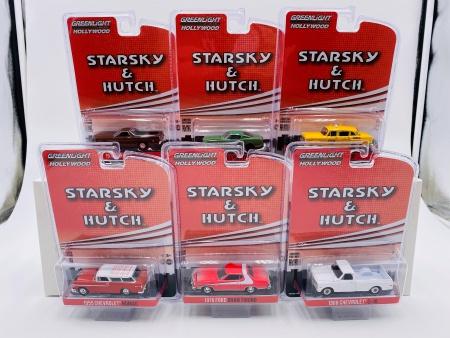 Set de 6 Véhicules Starky & Hutch