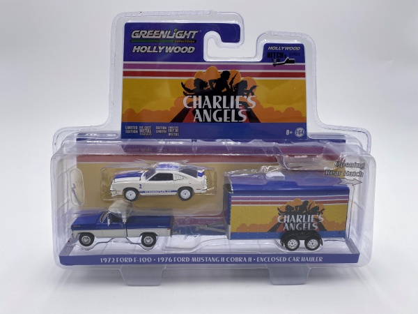 Set de Vehicules Charlies\'s Angels 1976 - 1981