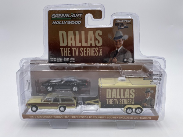Set de Vehicules Dallas 1978 - 1991