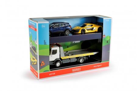 Set Renault Truck Dépanneuse & deux véhicules