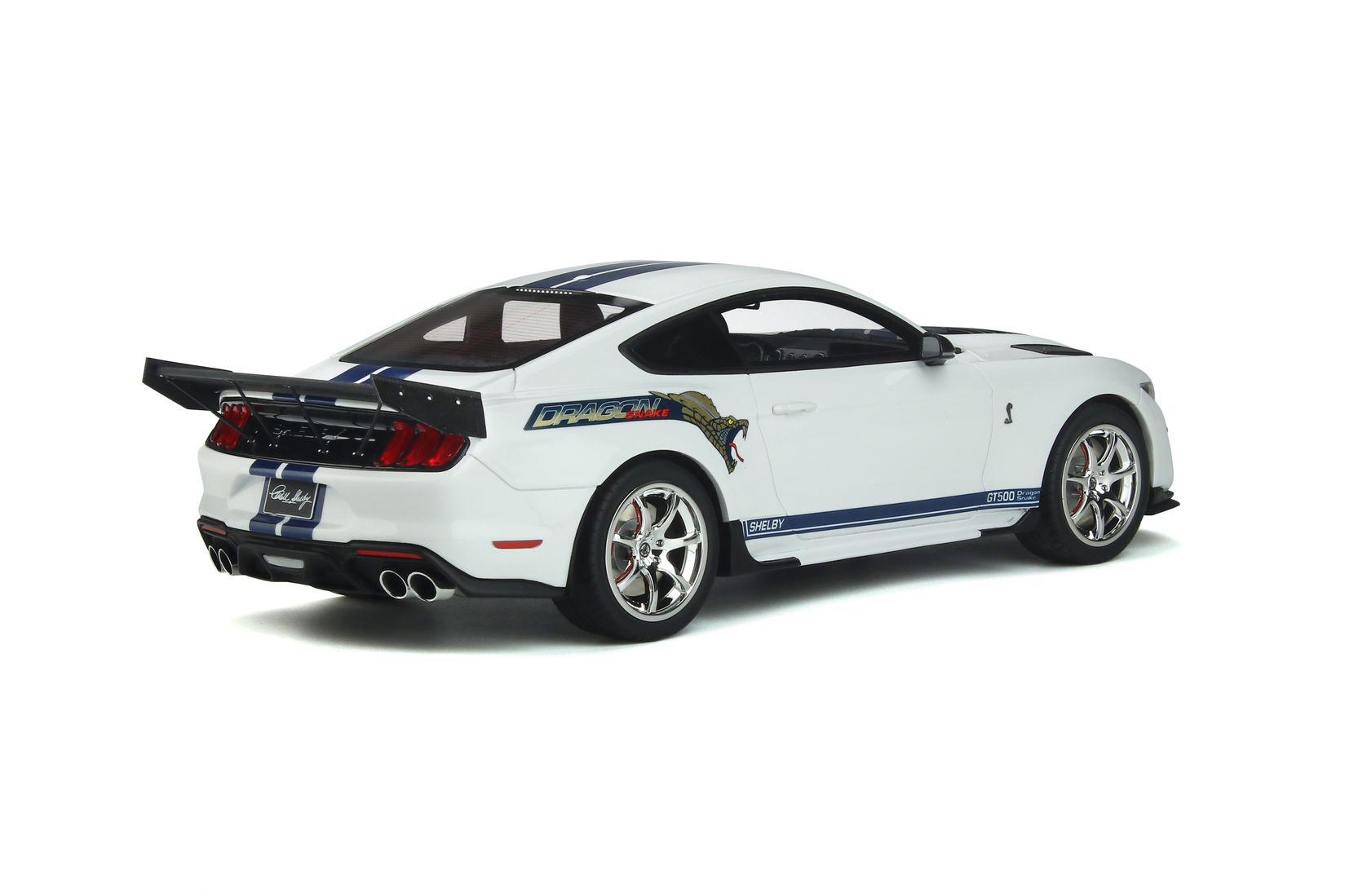 Shelby GT500 Dragon Snake Oxford White
