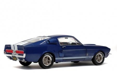 Shelby Mustang GT500 1967 Nightmist Blue & Light Grey Strips