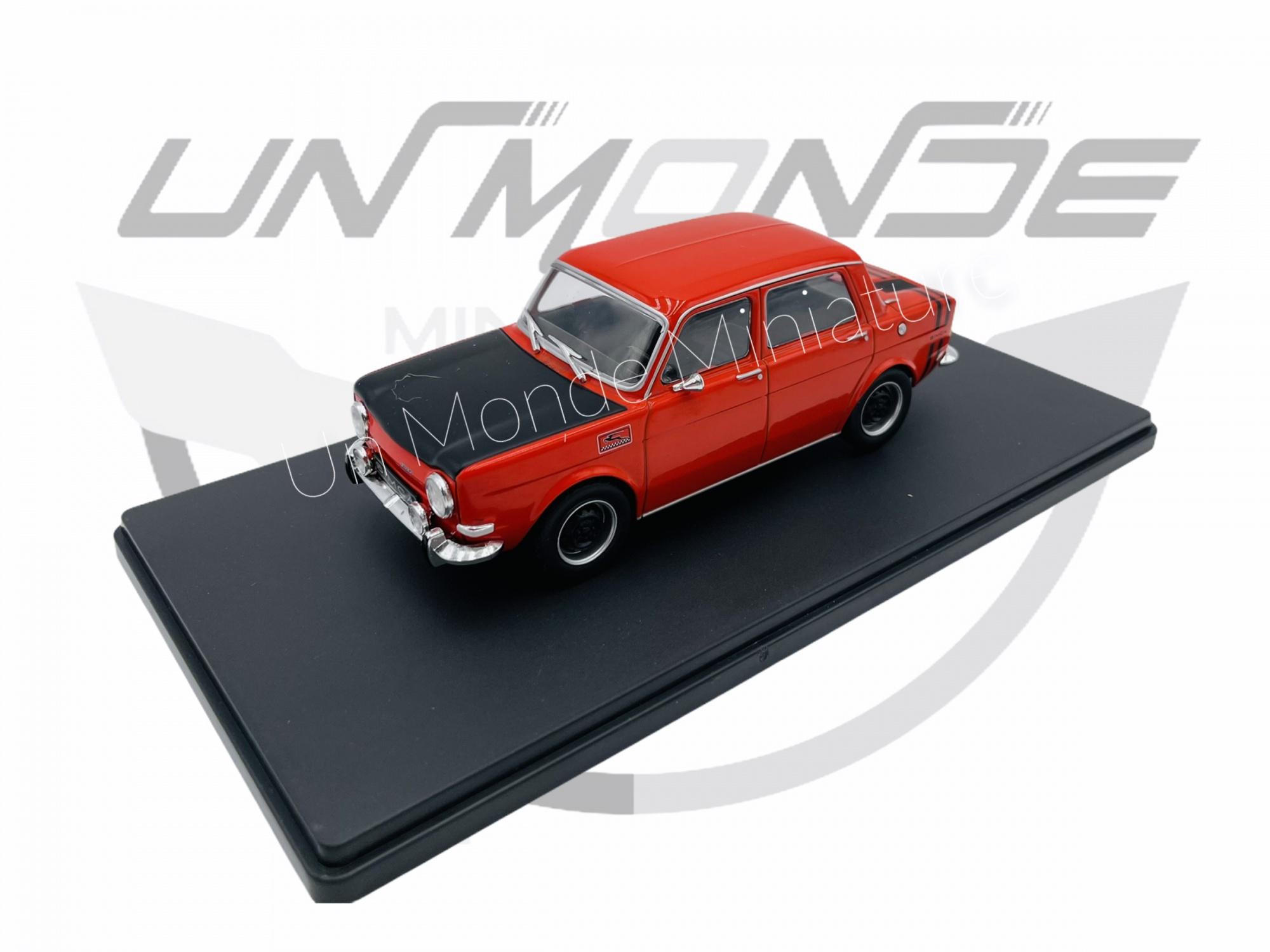 Simca 1000 Rallye 2 Rouge