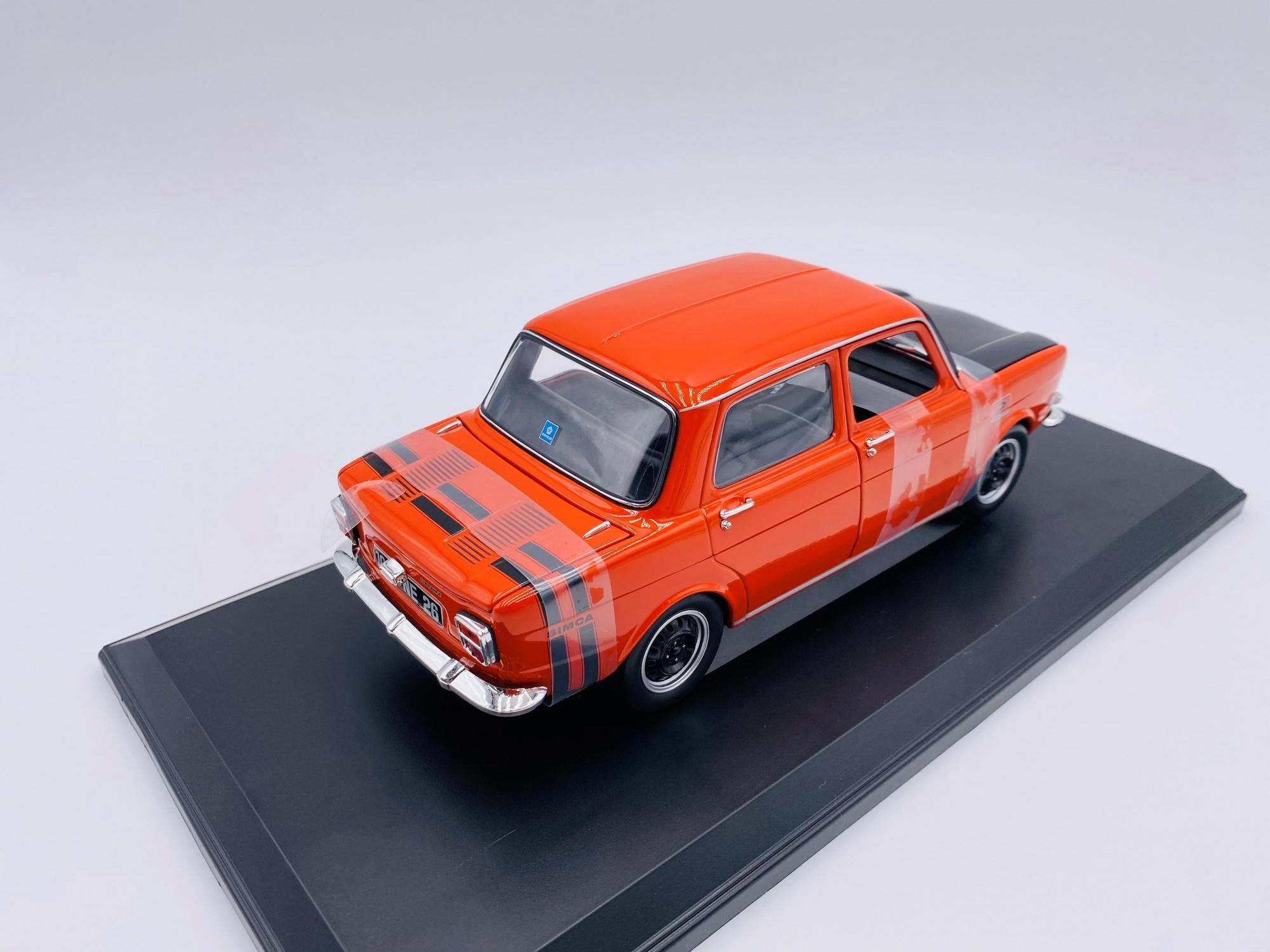 Simca 1000 Rallye I 1971 Sarde Red