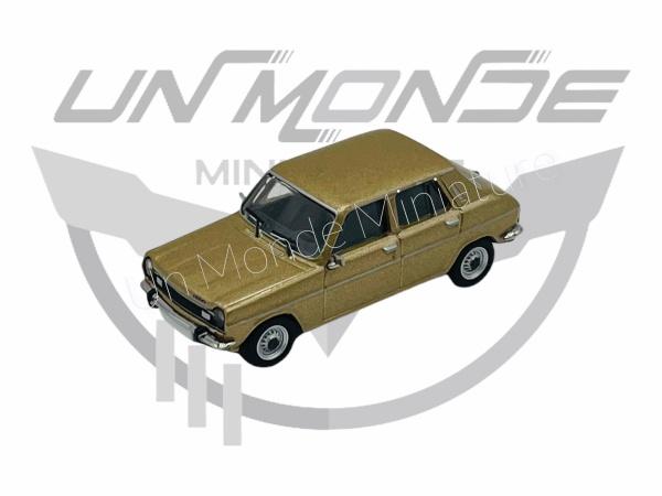 Simca 1100 Métallic Gold