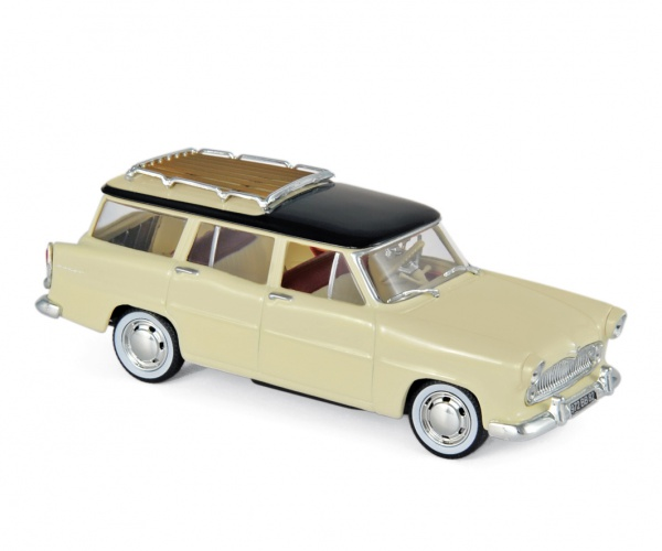 Simca Vedette Marly 1957 Paille Yellow & Black