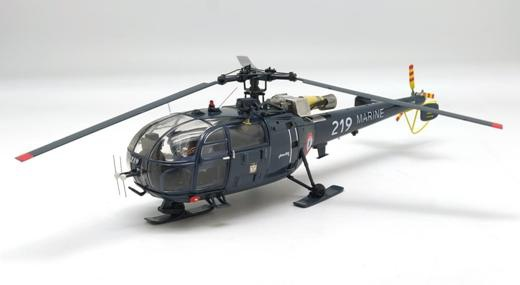 Sud-AViation Alouette 3 Helicopter Marine Nationale