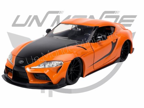 Toyota Supra GR Orange 2020