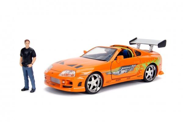 Toyota Supra W/Brian O\'Conner Orange 1995
