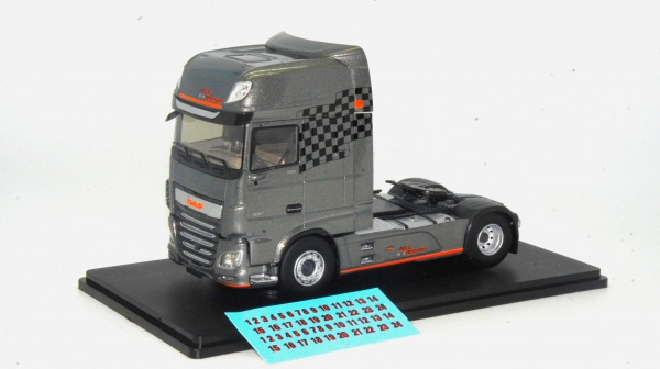 Tracteur Daf Xf My 2017 Pole Position
