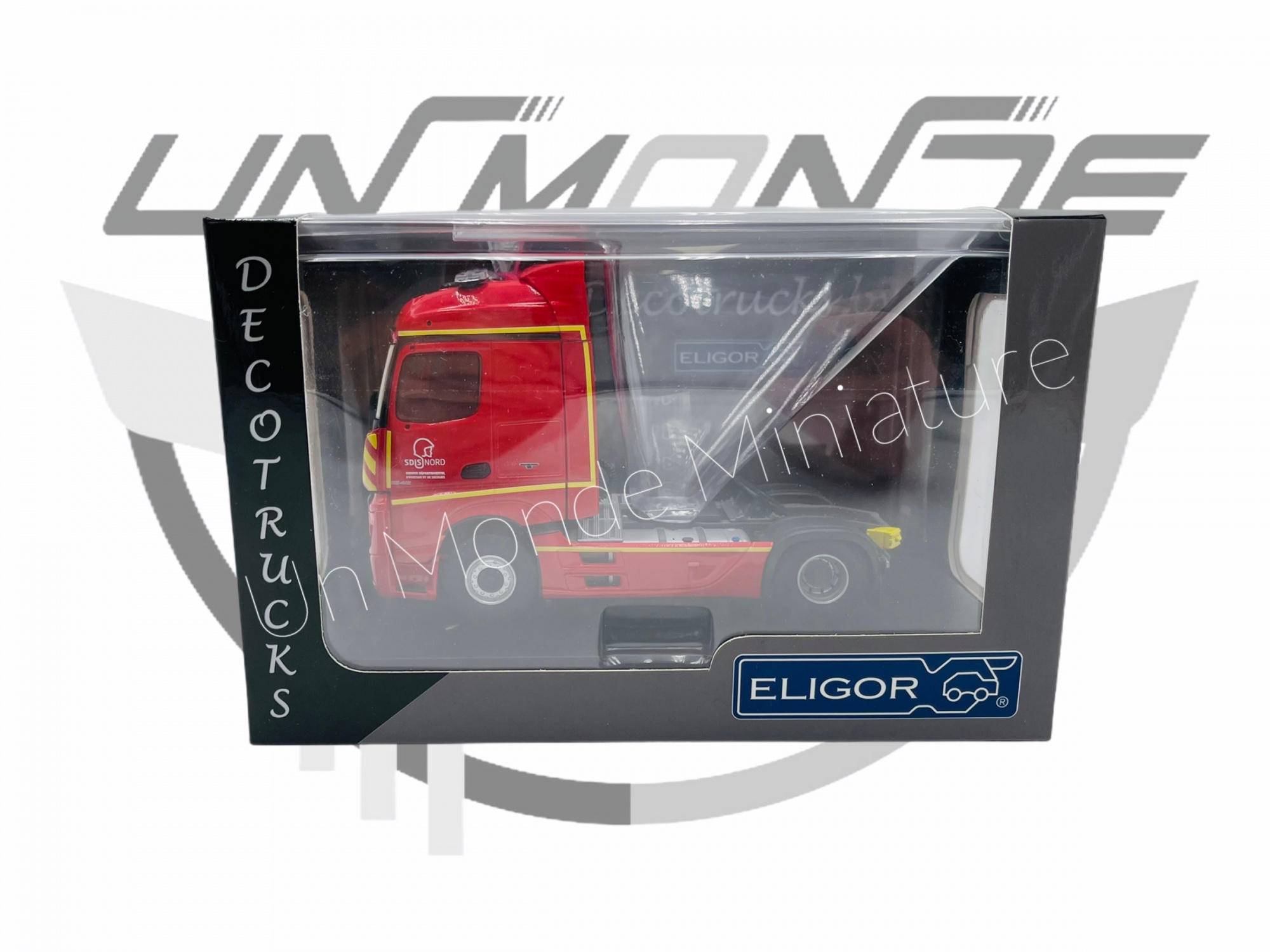 Tracteur Mercedes Actros 2 Sdis 59